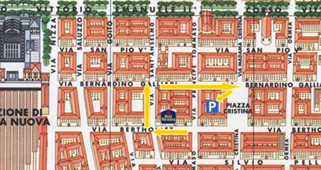3-star Hotel in the Centre of Turin with parking